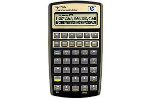 Hewlett Packard HP 17Bii plus Financial Calculator 125-14016-7